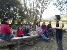 Youth facilitators from Mainland visit Taiwan to learn about community development.