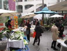 Farmers markets are regularly held in different locations in Beijing.