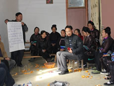 Dong singers in Congjiang County, Guizhou Province, held workshop on ways to revive their songs culture.